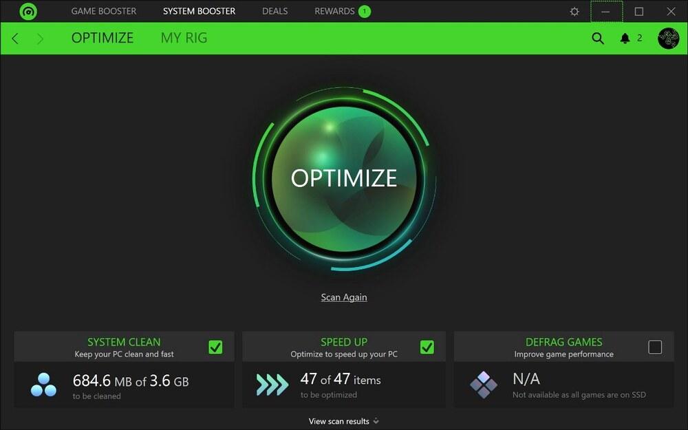 Razer Cortex (Game Booster)