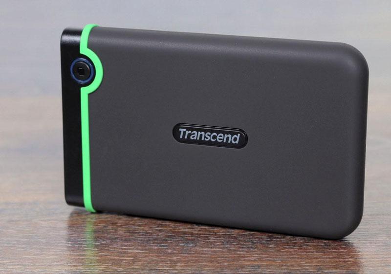 Внешний жёсткий диск Transcend StoreJet