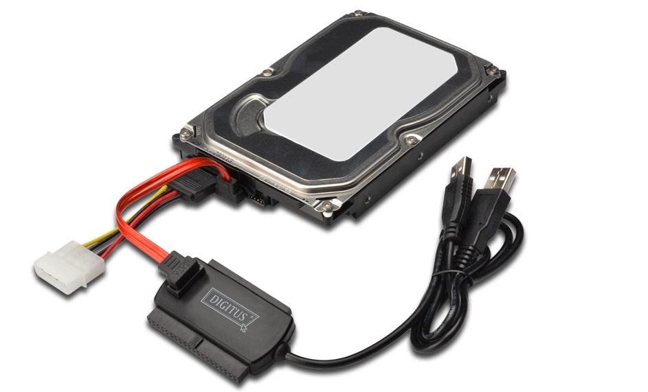 USB–SATA подключение жесткого диска