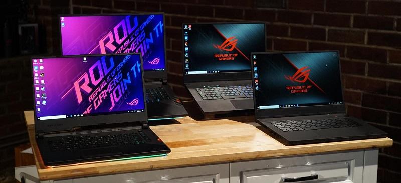 Игровые ноутбуки с разными параметрами