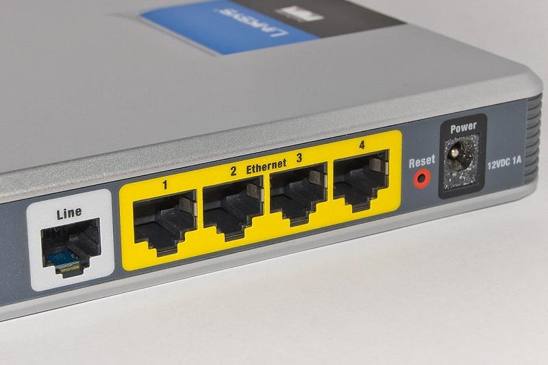 LAN порты