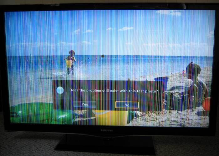 Неполадки с ЖК экраном