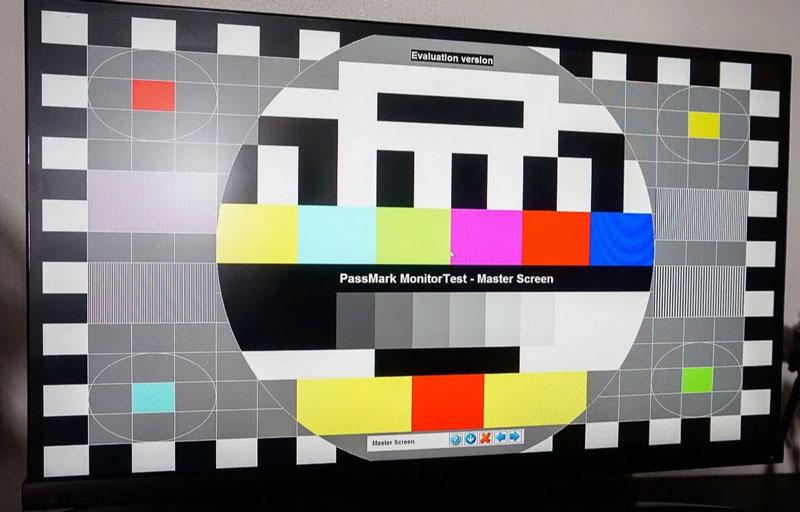 PassMark Monitor Test