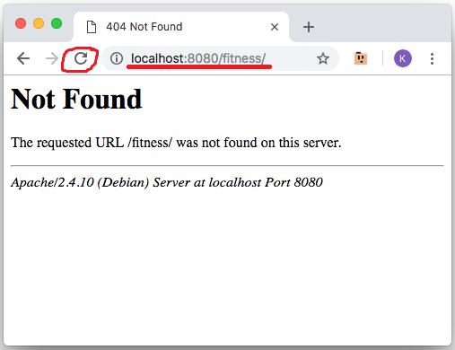 Проверка адреса и обновление страницы