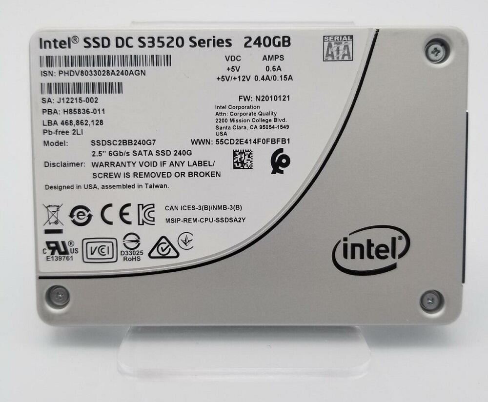 SSD диск от Intel