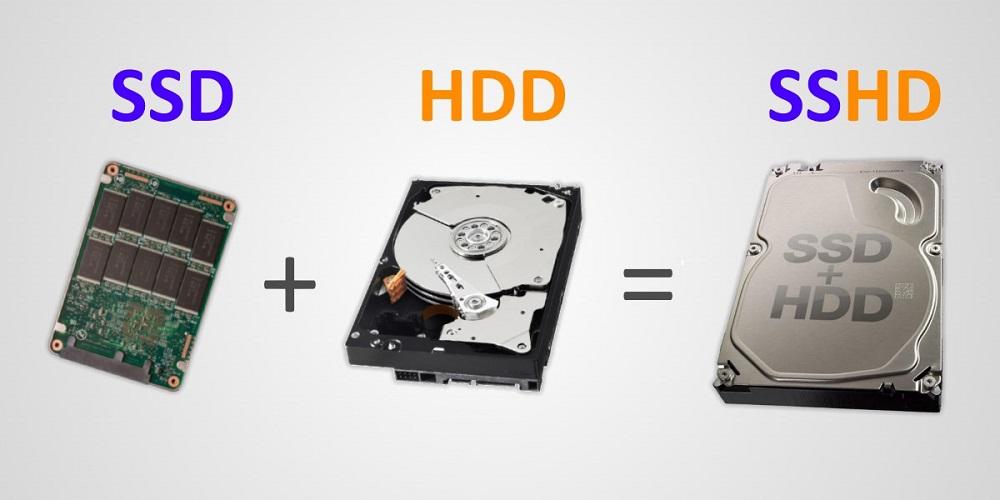 SSD, HDD и SSHD диски