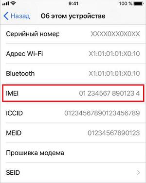 Проверка по IMEI