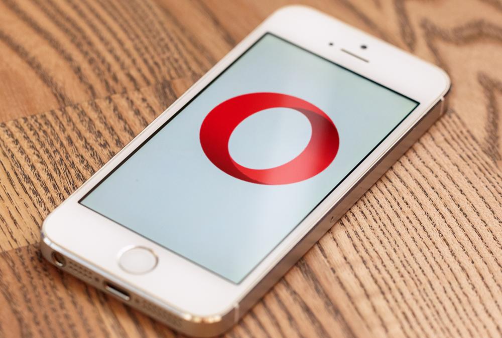 Opera Mini на iOS