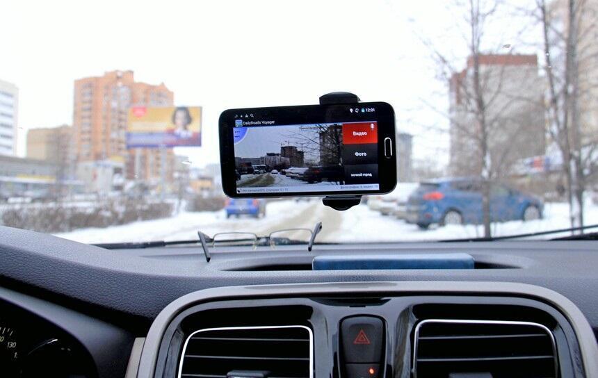 Смартфон вместо видеорегистратора