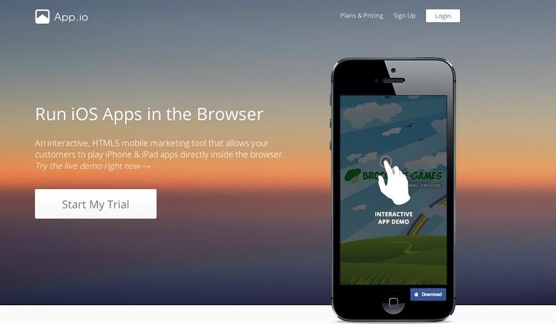 Эмулятор iOS AppIO