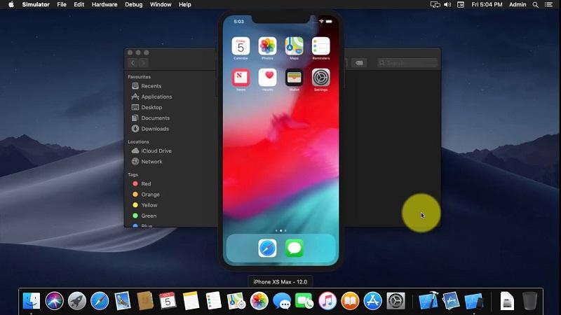 Эмулятор iPhone XS Max
