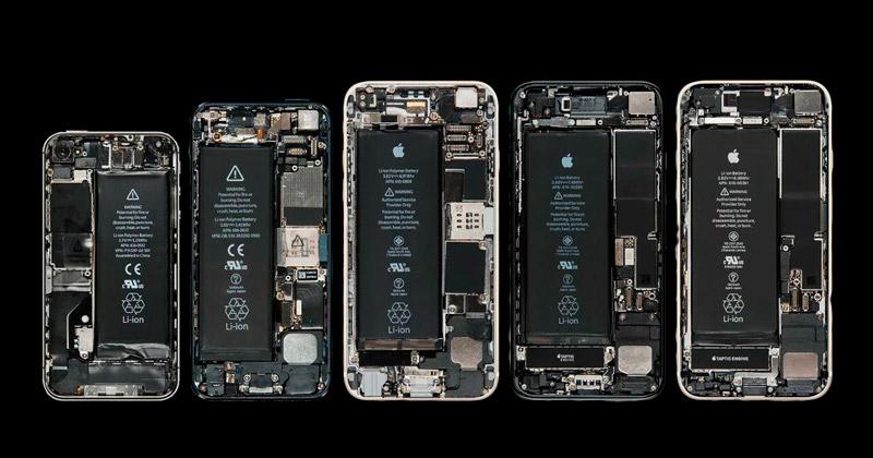 iPhone без задней крышки
