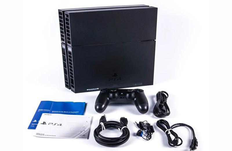 Комплектация PS 4