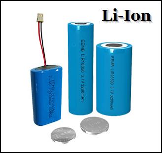 Как выглядит Li-Ion тип аккумулятора