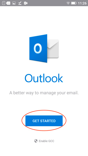 Приложение Outlook