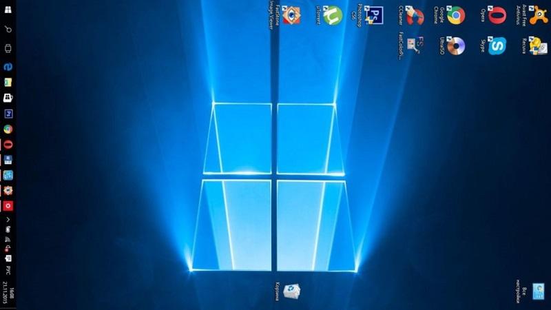 Перевёрнутый экран