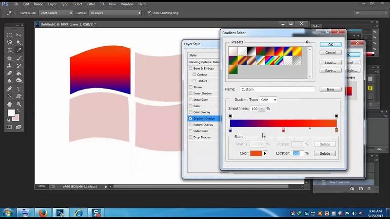 Photoshop на Windows 7