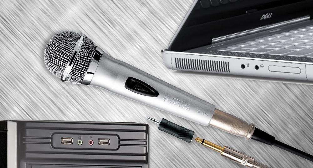 Подключение микрофона к ПК и ноутбуку