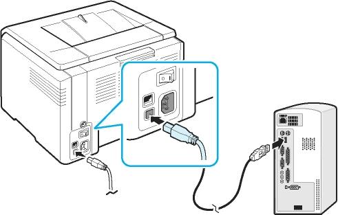 Правильное подключение принтера к компьютеру