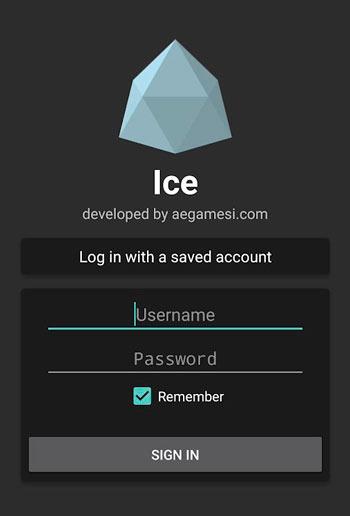 Приложение Ice Client