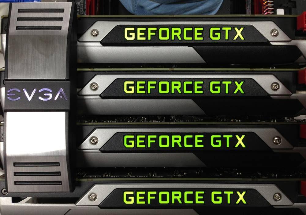 Видеокарты GeForce GTX