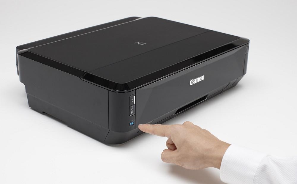 WPS подключение принтера