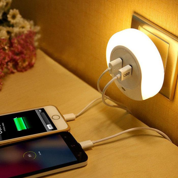 Смартфон оставленный на зарядке на ночь