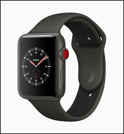 Apple Watch Series 3 со встроенным модулем eSIM