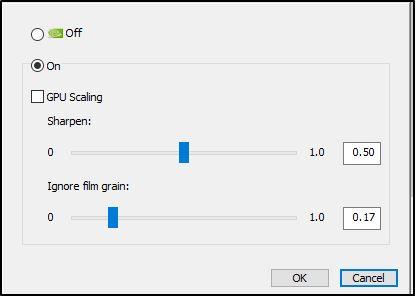 Дополнительные критерии функции «Image Sharpening»