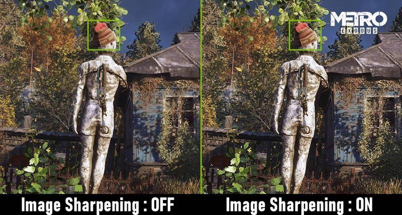 Эффект технологии Image Sharpening