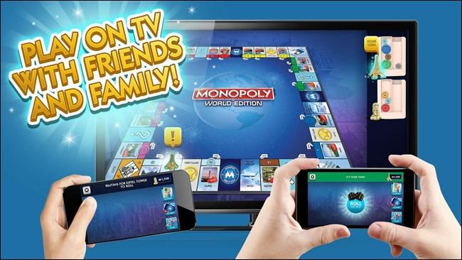 Игра Monopoly на Chromecast