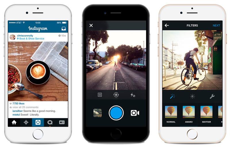 Мобильное приложение Instagram