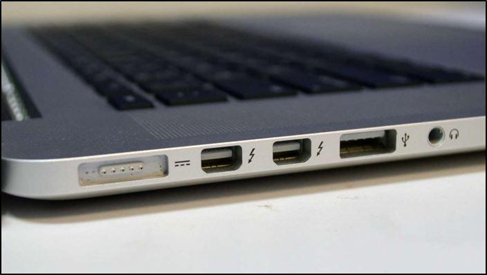 Интерфейсы и разъёмы MacBook
