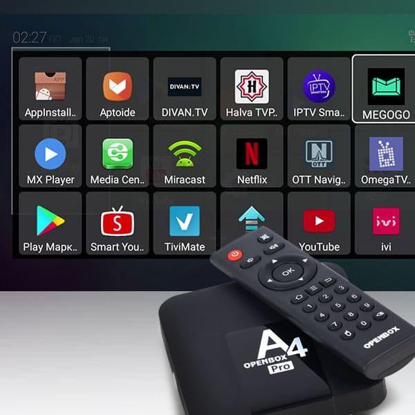 Использование IPTV вместе с приставкой