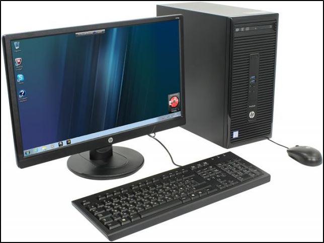 Офисный компьютер с низким энергопотреблением