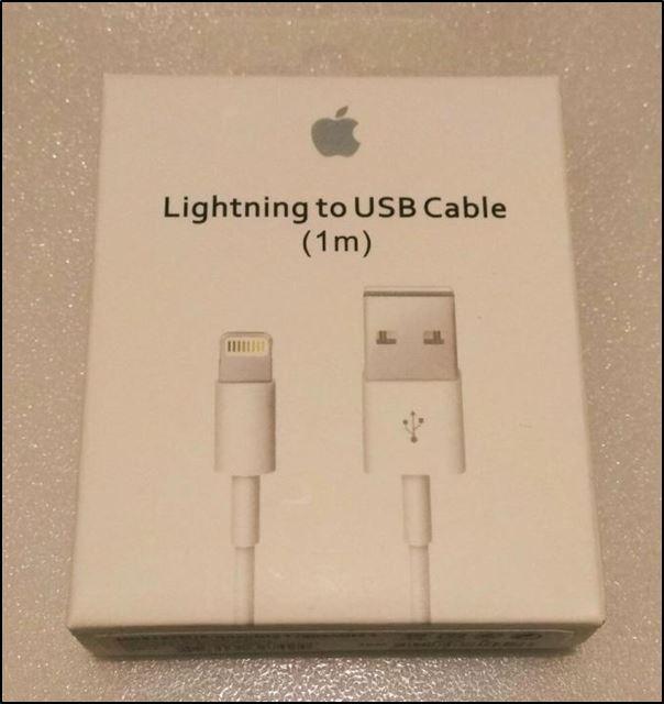 Оригинальное зарядное устройство для iPhone