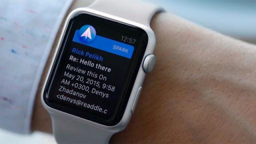 Почтовый клиент в Apple Watch