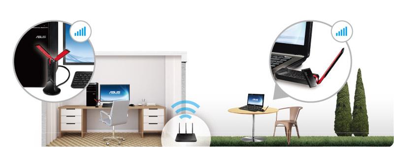 Подключение Wi-Fi-адаптера