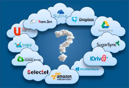 Популярные облачные сервисы