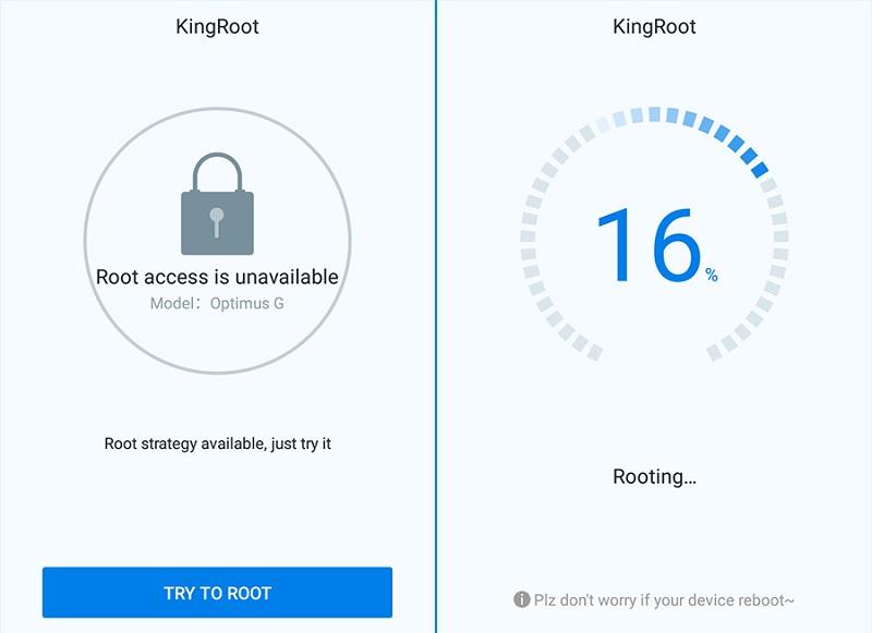 Приложение KingRoot для Android