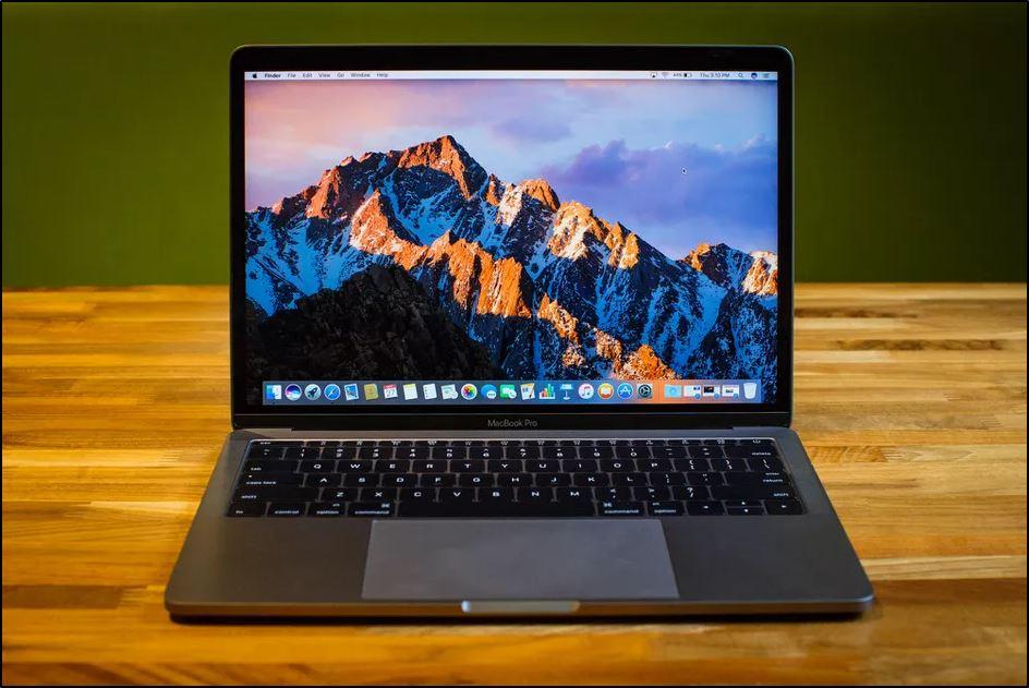 Пробный запуск системы MacBook