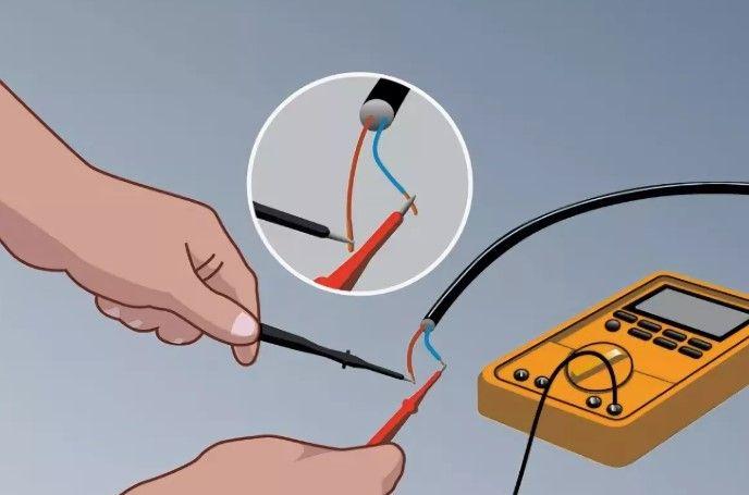 Проверка целостности провода