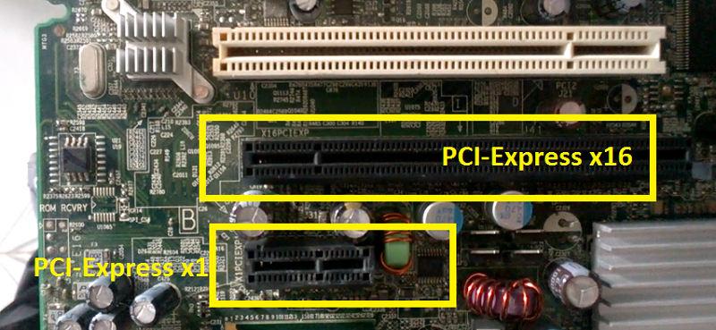 Разъемы PCI-Express