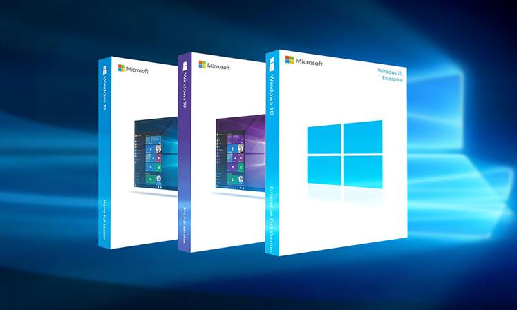 Редакции Windows 10