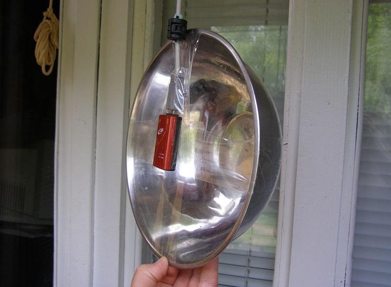 Рефлектор из миски