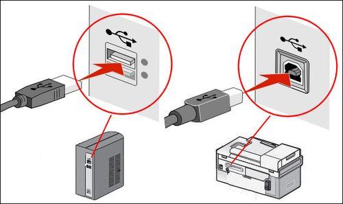 USB подключение