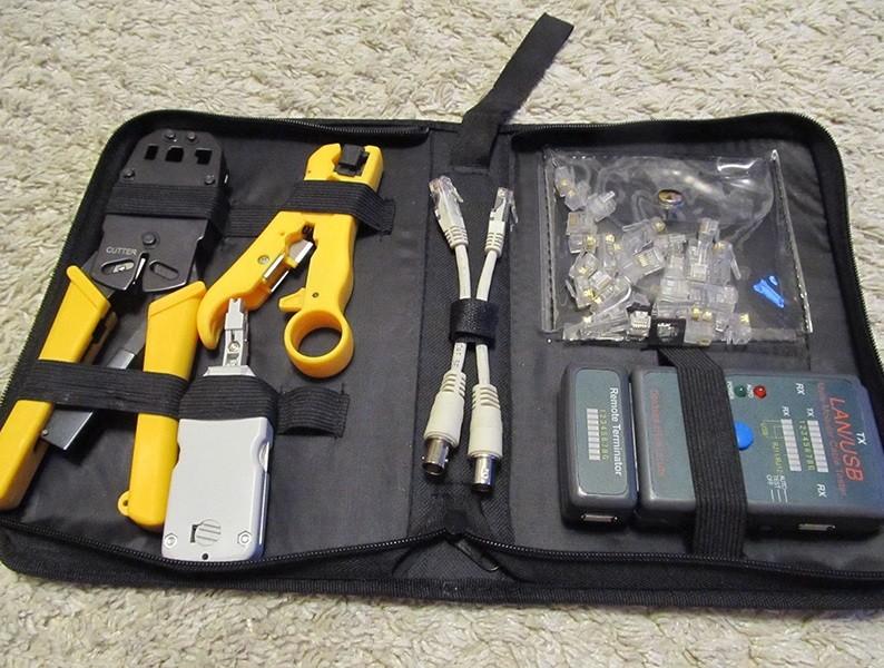 Инструменты для обжима витой пары