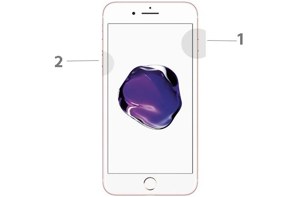 Принудительная перезагрузка iPhone 6