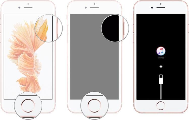 Режим восстановления на iPhone 6