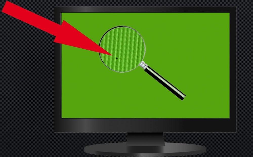 «Битый» пиксель на экране